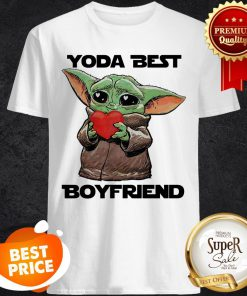 Official Baby Yoda Best Boyfriend Shirt