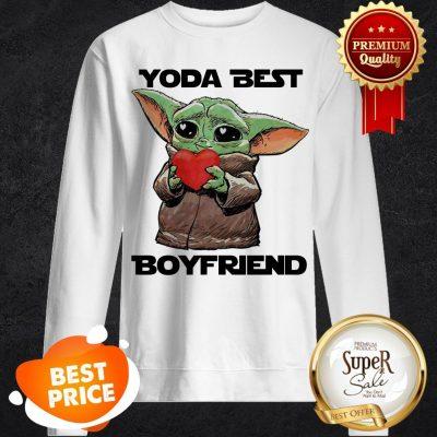 Official Baby Yoda Best Boyfriend Sweatshirt