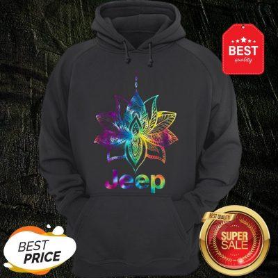 Official Jeep Mandala Lotus Tiedye Hoodie