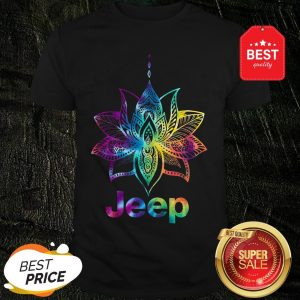 Official Jeep Mandala Lotus Tiedye Shirt