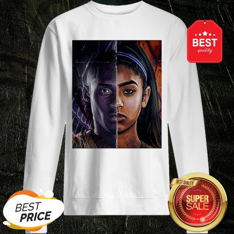 Official Kobe Bryant And Daughter Face Sweatshirt