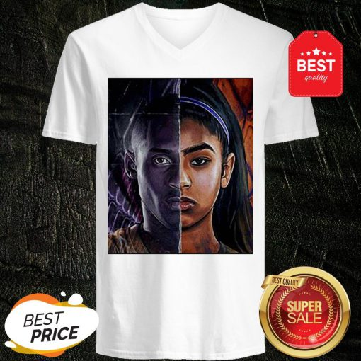 Official Kobe Bryant And Daughter Face V-Neck