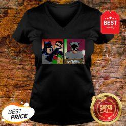 Good Batman Yelling At Catwoman V-Neck