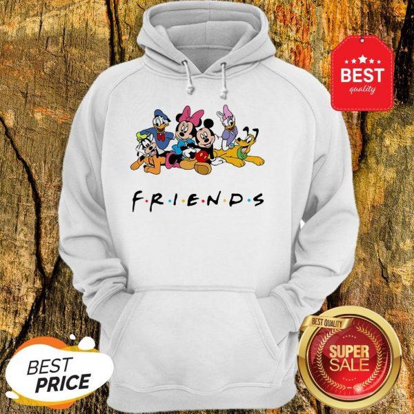 Good Group Of Disney Characters Friends Hoodie