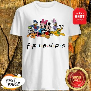 Good Group Of Disney Characters Friends Shirt