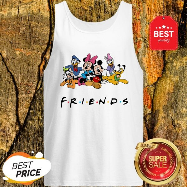 Good Group Of Disney Characters Friends Tank Top