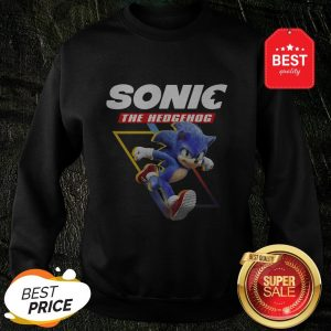 Good Sonic The Hedgehog Sweatshirt
