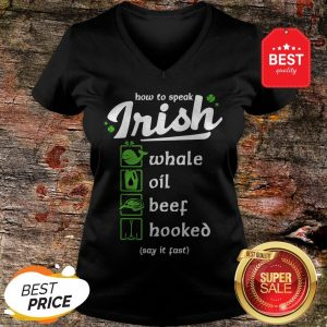 How To Speak Irish Whale Oil Beef Hooked V-Neck