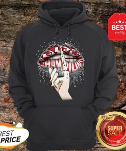Lips Diamond Kansas City Chiefs Champions Super Bowl Hoodie