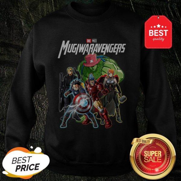 Marvel One Piece Mugiwaravengers Avengers Endgame Sweatshirt