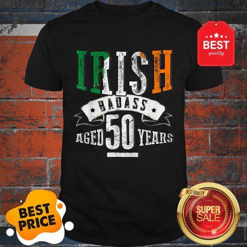 Nice 50th Irish Birthday Gifts St Patricks Day Shirt