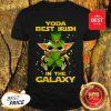 Nice Baby Yoda Best Irish In The Galaxy Star Wars Shirt