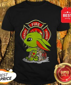 Nice Baby Yoda I Love Fire Department Shirt