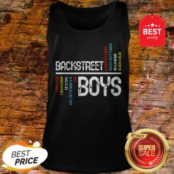 Nice Backstreet Boys DNA In A World Like This Is Us Unbreakable Never Gone Tank Top
