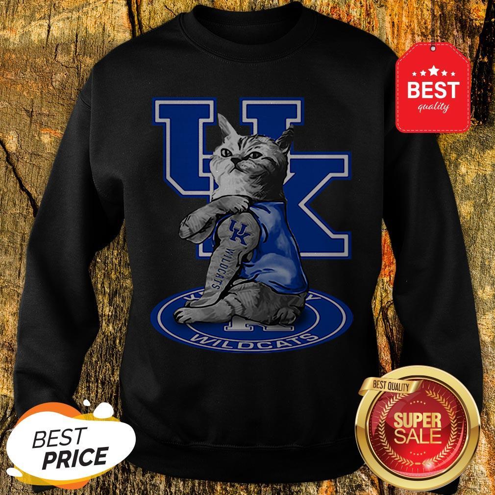 Nice Cat Tattoos Kentucky Wildcats Sweatshirt