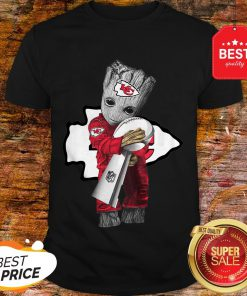 Official Baby Groot Hug Kansas City Chiefs Super Bowl Shirt