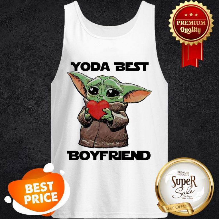 Official Baby Yoda Best Boyfriend Tank Top