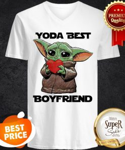 Official Baby Yoda Best Boyfriend V-Neck