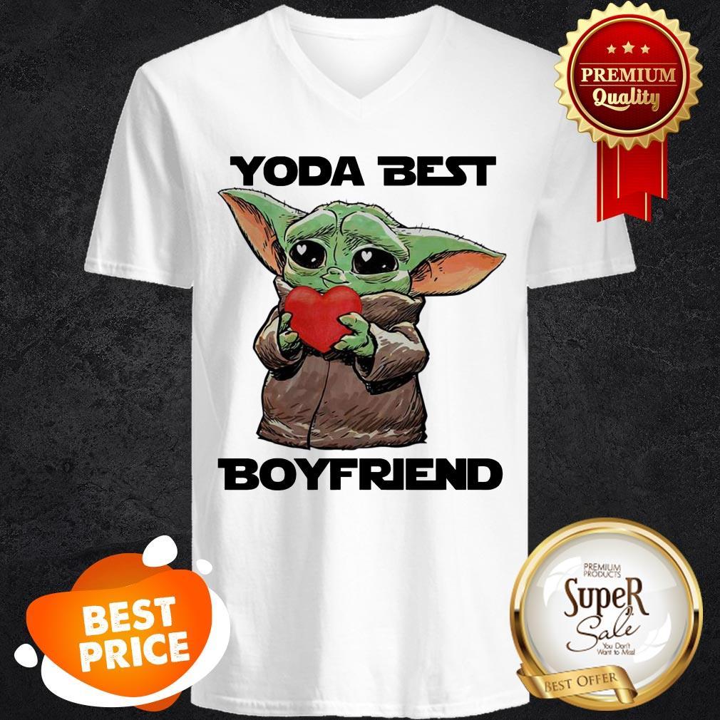 Official Baby Yoda Best Boyfriend V -Neck
