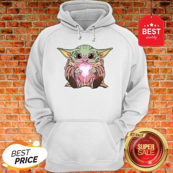 Official The Baby Yoda Adorable Kawii Star Wars Hoodie