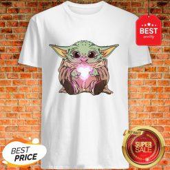 Official The Baby Yoda Adorable Kawii Star Wars Shirt