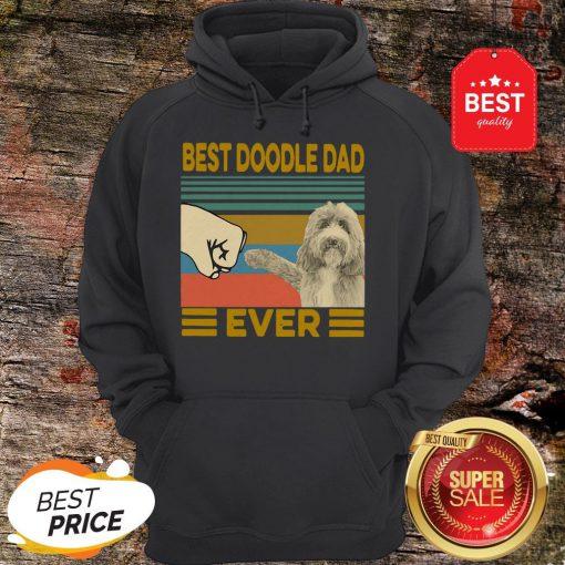 Official Best Doodle Dad Ever Vintage HoodieOfficial Best Doodle Dad Ever Vintage Hoodie