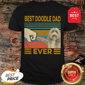 Official Best Doodle Dad Ever Vintage Shirt