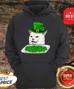 Official Cat Meme Yelling St. Patrick's Day Irish Hoodie