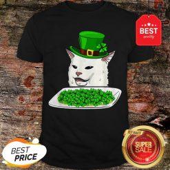Official Cat Meme Yelling St. Patrick's Day Irish Shirt