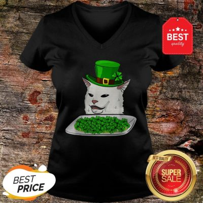 Official Cat MeOfficial Cat Meme Yelling St. Patrick's Day Irish V-neckme Yelling St. Patrick's Day Irish HoodieOfficial Cat Meme Yelling St. Patrick's Day Irish Hoodie