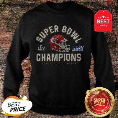 Official Kansas City Chiefs Super Bowl Champions 2020 Sweatshirt