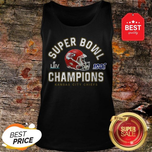 Official Kansas City Chiefs Super Bowl Champions 2020 Tank Top