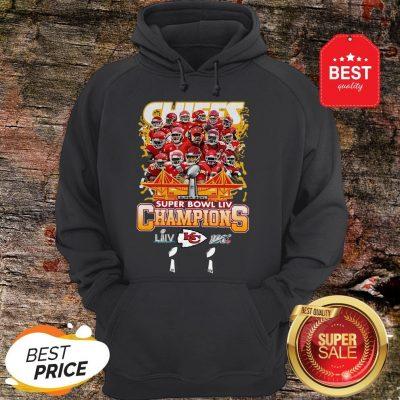 Official Kansas City Chiefs Super Bowl LIV Champs Hoodie