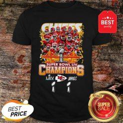 Official Kansas City Chiefs Super Bowl LIV Champs Shirt