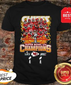 Official Kansas City Chiefs Super Bowl LIV Champs Shirt