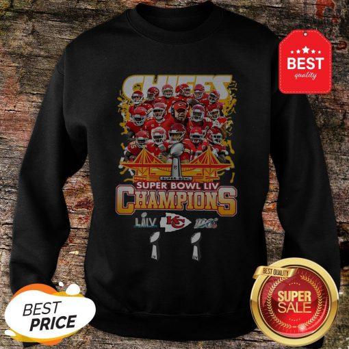 Official Kansas City Chiefs Super Bowl LIV Champs Sweatshirt
