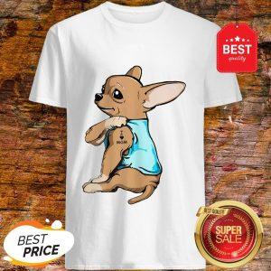 Official Strong Chihuahua I Love Mom Tattoos Shirt