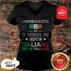 Official We're Still Italians on St. Patrick's Day V-Neck