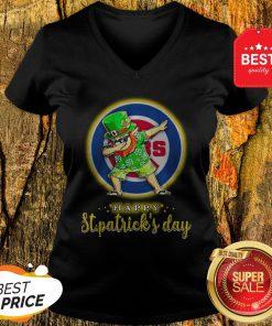 Pretty Chicago Cubs Leprechaun Dabbing St Patrick's Day V-Neck