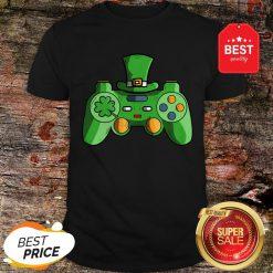 Video Game Gaming St Patricks Day Gamer T Shirt