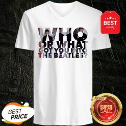 Who Or What Got You Into The Beatles T-V-Neck
