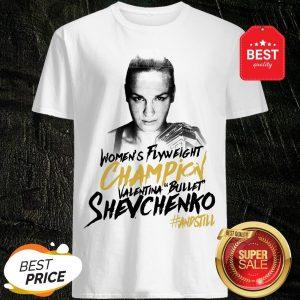 Women's Flyweight Champion Valentina Bullet Shevchenko Winner T-Shirt