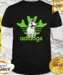 Adidas Logo Addidos Bulldog Shirt