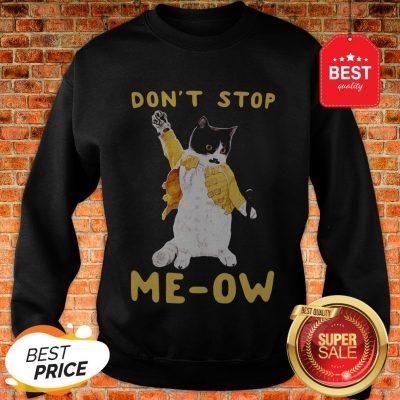 Freddie Meowrcury Don't Stop Meow Sweatshirt