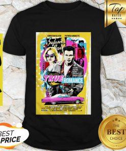 Good A Tony Scott Film True Romance Poster Shirt