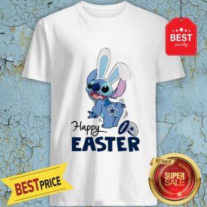 Good Disney Stitch Dallas Cowboys Logo Happy Easter shirt