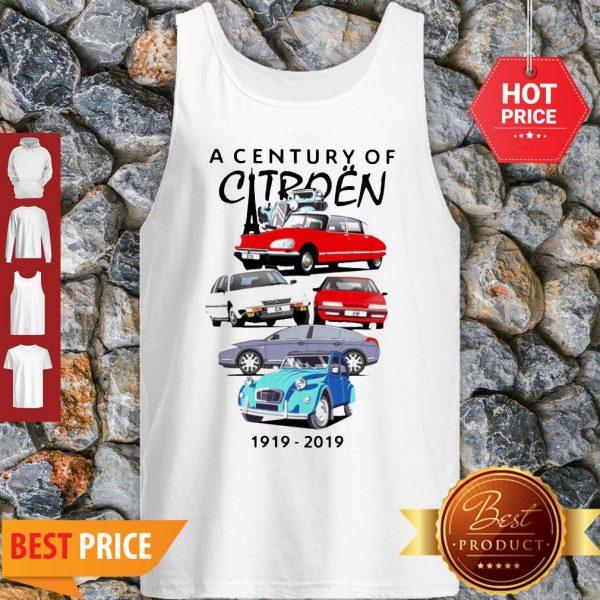 Good Hot A Century Of Citroen 1919-2019 Tank Top