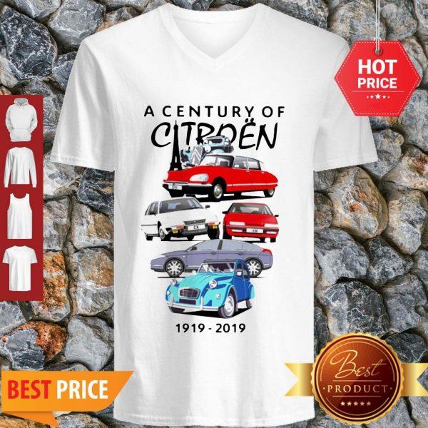 Good Hot A Century Of Citroen 1919-2019 V-Neck