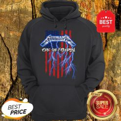 Good Metallica Merica Ride The Freedom American Flag Hoodie