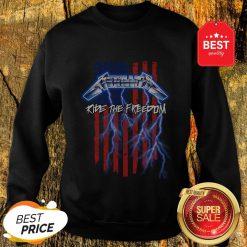 Good Metallica Merica Ride The Freedom American Flag Sweatshirt